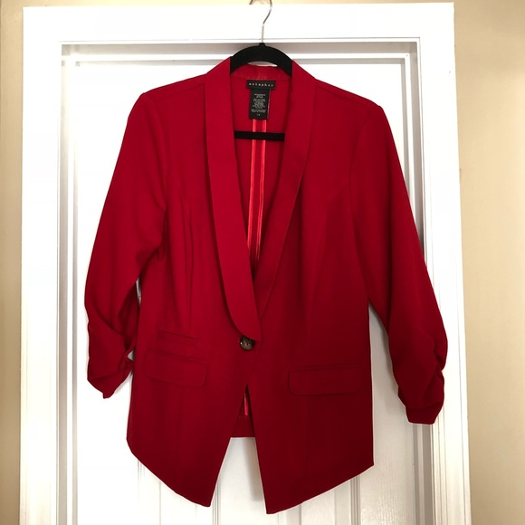 Metaphor Jackets & Blazers - Beautiful Red Power Blazer